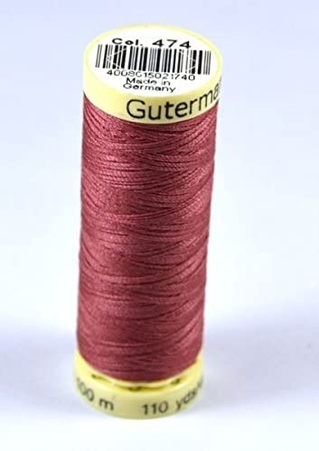 Gutermann 731323//1 Jeans Extra Strong Polyester Sewing Thread 100m x 3 200m x 2
