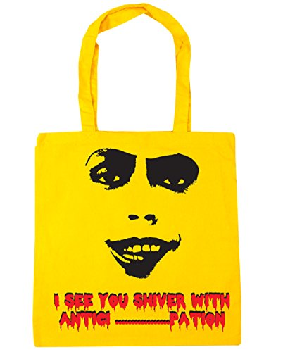 Yellow N Furter Frank HippoWarehouse Bag pation Antici 42cm I Silhouette See Beach 10 x38cm Shiver litres With Tote Gym Shopping You zA4zR