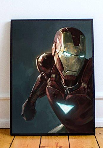 Iron Man Limited Poster Artwork - Professional Wall Art Merchandise (More (11x14)
