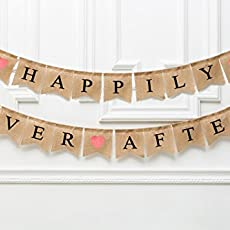 ba922c87f2567 Wedding Banner HAPPILY EVER AFTER Rustic Banner Customize your name -  Engagement.