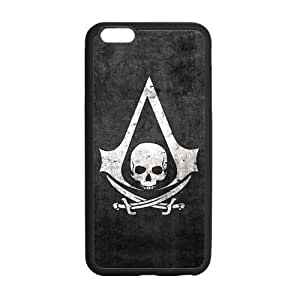 Assassin's Creed iphone 6 plus Back Cover, Protective Snap On Case Skin TPU For iphone 6 plus (5.5 inch) by runtopwell
