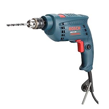 Bosch GSB 500W 10 RE Professional Tool Kit, MS & Plastic (Blue, Set of 100 Tools) 8