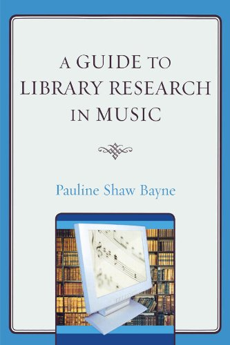 Download A Guide to Library Research in Music Pdf