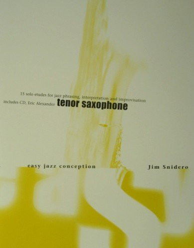 Easy Jazz Conception for Tenor Saxophone (Book + Cd)