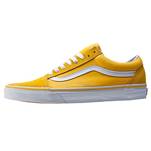 Vans Sk8-Hi - Zapatillas de skateboarding de ante para hombre Yellow