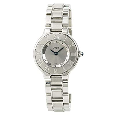 Cartier Must 21 Automatic-self-Wind Female Watch 1340 (Certified Pre-Owned) by Cartier