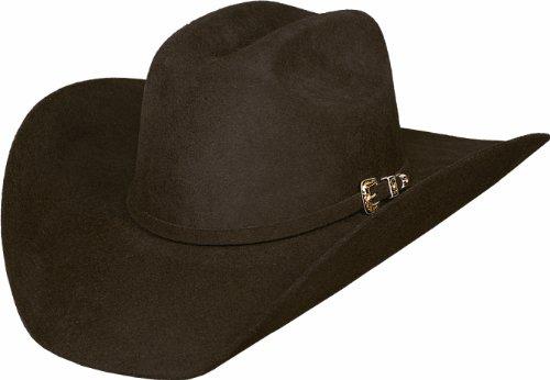 Montecarlo / Bullhide Hats - LEGACY - 8X FUR Blend Western Cowboy Hat (6-7/8, Chocolate) Fur Western Hat