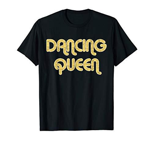 DANCING QUEEN Vintage Large Print 1970's T-Shirt (Dancing Queen T Shirt)