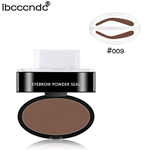 Beauty Makeup Tool , Ikevan IBCCCNDC Eyebrow Powder Eyebrows Stamp (I)