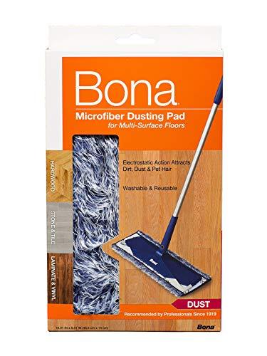 - Bona Hard-Surface Floor Microfiber Dusting Pad