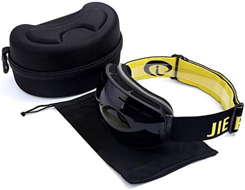 スキーゴーグル、成人用二層防曇男性および女性近視球状スキーメガネスキー用具