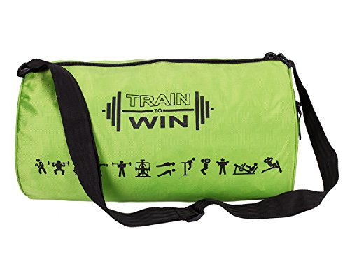 Cosmus Fitwell 23 litres P Green Gym Bag