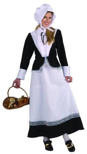 Forum Novelties Plymouth Pilgrim Woman Costume, Black, Standard