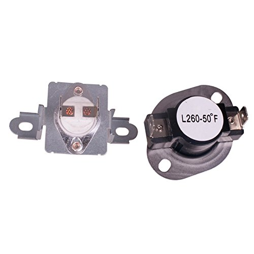 Clothes Dryer Thermostat Assembly (Dryer Thermostat Thermal Fuse Assembly for Samsung Dryer (DC96-00887A& DC47-00018A))