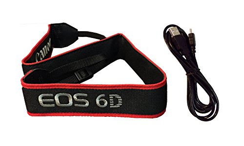 Canon Wide PRO Neck Strap EW-EOS 6D for Canon EOS 6D Digital SLR - Wide Strap Canon