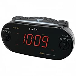 Timex Audio Dual Alarm Clock With Redi Set