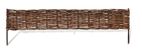 Master Garden Products Woven Willow Edging, 16 by 47-Inch by Master Garden Products