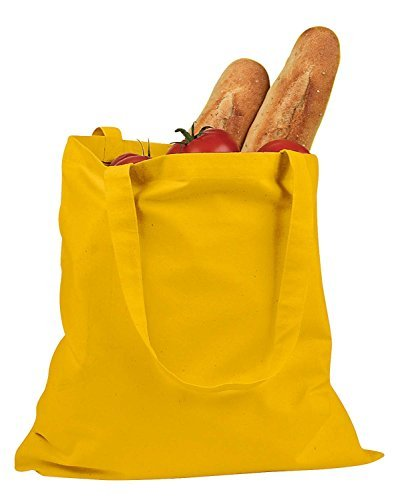 BAGedge 6 oz. Canvas Promo Tote - YELLOW - OS by ()