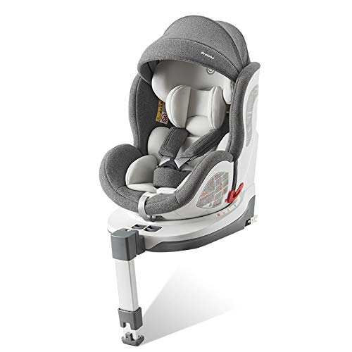 Child safety seat car with 0-4-12 year old baby baby seat portable 360 degree rotation can sleep