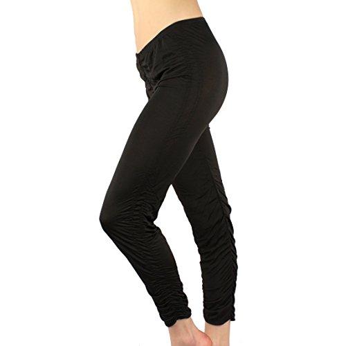 Crinkle Srunch Leggings Stretchy Apparel