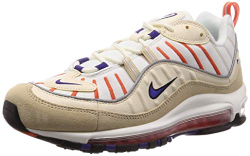 Nike Men's Shoes Sneakers AIR MAX 98 in Beige Fabric 640744-108