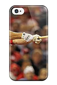 Durable Defender Case For Iphone 4/4s Tpu Cover(st_ Louis Cardinals )