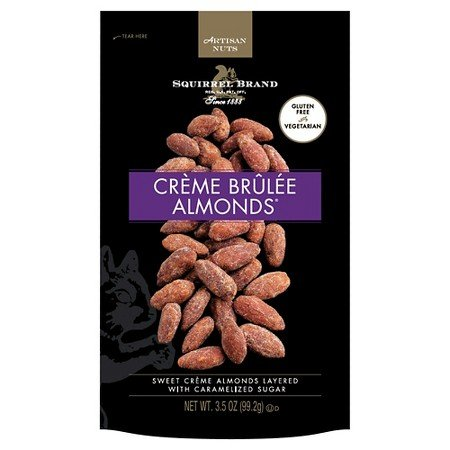 Squirrel Brand, Almonds Creme Brulee, 3.5 Ounce