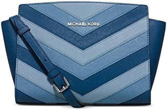 Michael Kors Selma Chevron Messenger