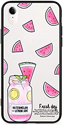 Funda iPhone XR,Carcasa iPhone XR Suave Silicona,Moda Flores Mariposa Pintado Patr/ón Cubierta Blanco Silicona TPU y PC Ultra Delgado Anti-Rasgu/ño Case