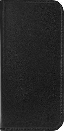 Coque clapet avec pochettes CB & stand pour Samsung Galaxy S7, Noir