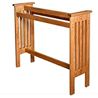 Allamishfurniture Amish Oak FLOOR QUILT RACK MISSION UNASSEMBLED