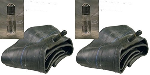 Pair of Trans American 4.10/3.50-4 Inner Tubes with TR-13 Straight Valve Stem