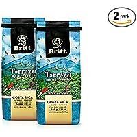 Cafe britt tarrazu montecielo 咖啡粉,4盎司袋(2个装)