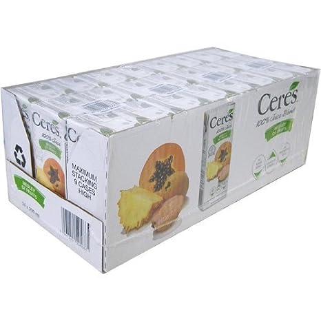 CERES Ceres Medley von Obst 200mlx24 Set von Obst, Obst, Saft ...