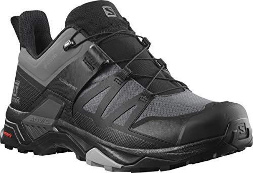 Salomon Men's X Ultra 4 GTX Hiking Shoe, Magnet/Black/Monument