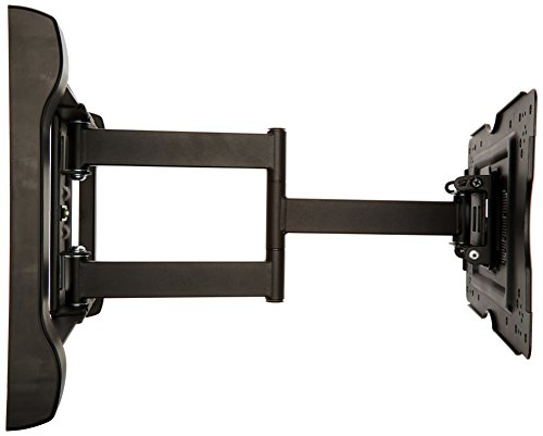 amazonbasics heavy duty full motion articulating tv wall import it all. Black Bedroom Furniture Sets. Home Design Ideas