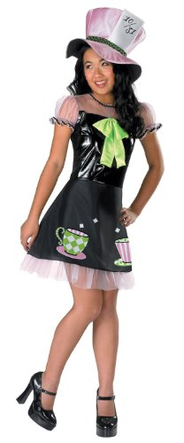 [Disguise Mad Hatter - L (10-12)] (Mad Hatter Costume Kids Girl)
