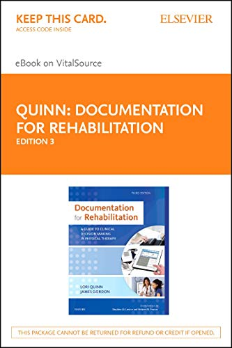 Documentation for Rehabilitation - Elsevier eBook on VitalSource (Retail Access Card): A Guide to Clinical Decision Making in Physical Therapy