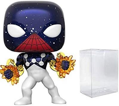 Spider-Man Captain Universe EE Exclusive - Bundled with Pop Protector Box