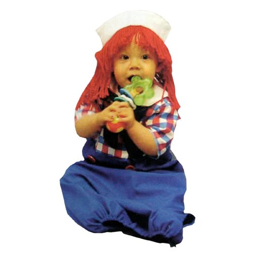 Costumes 124382 Raggedy Andy Bunting Costume -