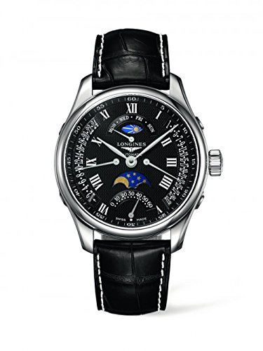 New-Longines-Master-Collection-Automatic-Black-Dial-Leather-Strap-Mens-Watch-L27394517