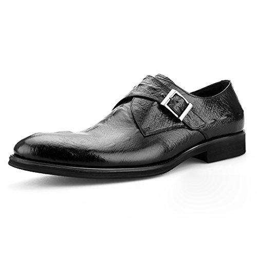 Zapatos Piel Primavera Cuero Negocios Hombre EU43 de Formal Desgaste Zapatos Negro Puntiagudos Clásicos de Color para de Zapatos de de Zapatos Formal de de Tamaño Rojo Hombre UK8 Vino Hombres E6xx7zT0qw