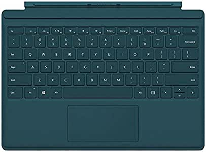 Amazon.com: Microsoft Type Cover for Surface Pro - Teal ...