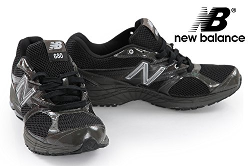New Balance - basket - m680bs1 - noir baskets mode homme