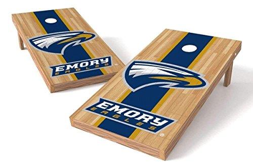 Emory Wood - PROLINE NCAA College 2' x 4' Emory Eagles Cornhole Board Set - Court