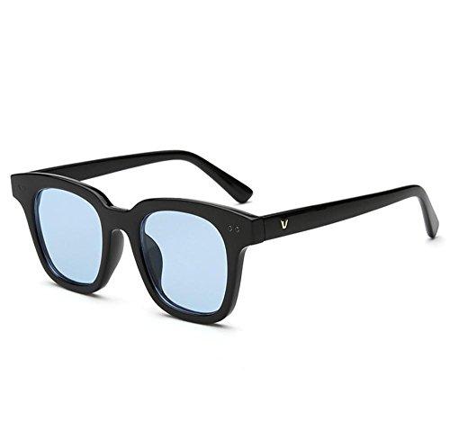 Tou che Korean V brand UV sunglasses driving glasses (Black Color, Blue - Glasses Korean Brands
