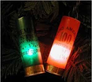shotgun shell christmas lights 100 light strand