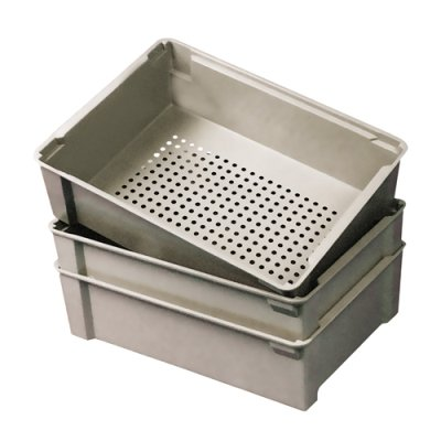 17-7/8''L x 11-1/4''W x 6''H Wash Box with Solid Bottom