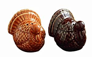 Tag Turkey Salt and Pepper Shakers