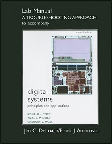 Book Student Lab Manual a Troubleshooting Approach for Digital Systems: Principles and Applications